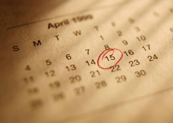 Alla vill ha ett datum