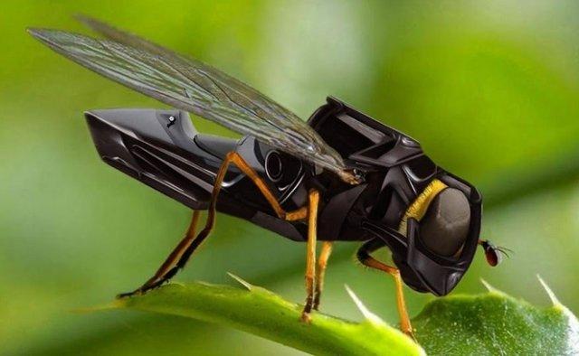 Vill vi ha robotbin eller riktiga bin som surrar kring äppelträden i framtiden?